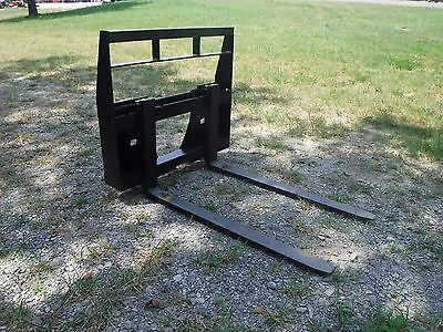 Bobcat Mt 453 S70 Mini Skid Steer - New 42 Pallet Forks Attachment - Ship 149