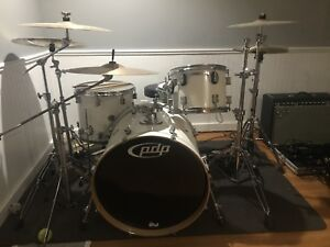 PDP by DW Concept Maple w/cymbals, double kick, and more!