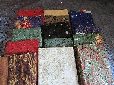 WILLIAMSBURG  HOLIDAY HERITAGE PRESENTED BY WINDHAM FABRICS  FAT QUARTERS OOP
