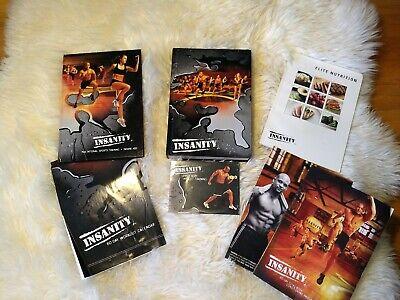 Beachbody Insanity 13 Disc Workout DVD Setmeal plan calendar