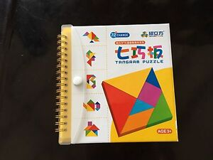 Brand New  Travel Magnetic Tangram puzzles $14
