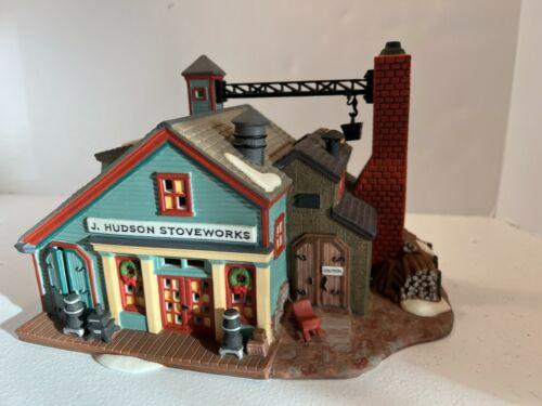 Dept 56 New England Village -- J. Hudson Stoveworks 56574 (1996)