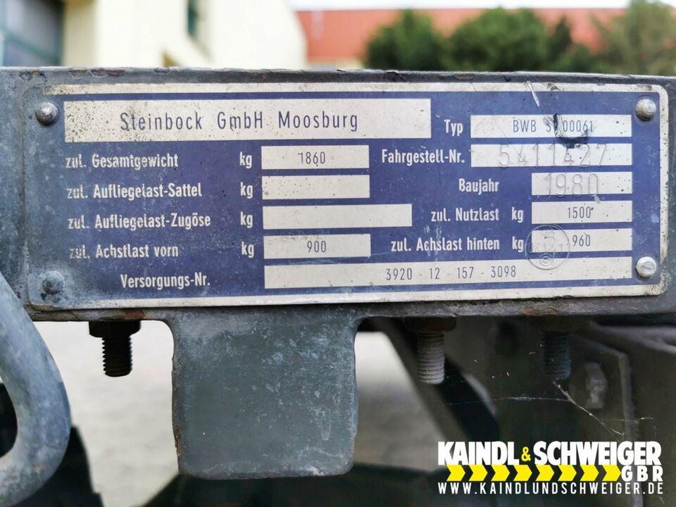 Industrieanhänger, Schwerlastanhänger für Multicar in Moosburg a.d. Isar