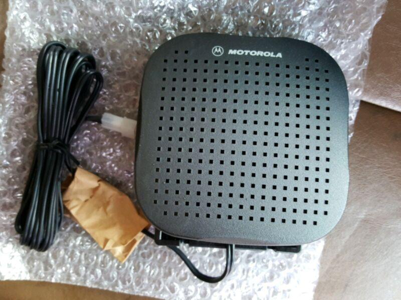 Motorola HSN4038A 8 Ohm 7.5 Watt Remote Mount External Radio Loud Speaker New