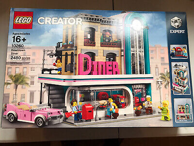 Lego Creator Downtown Diner 10260 New Sealed