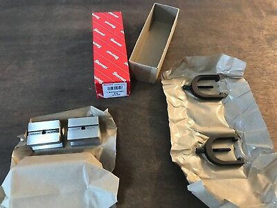 Starrett 278 V-blocks And Clamps 1 Capacity Brand New