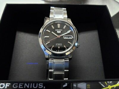 SEIKO  5  SNK795  Stainless Steel  Black Dial SEIKO Automatic 2019 SNK795-NEW