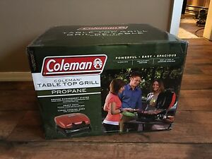 BRAND NEW Coleman Table Top Grill