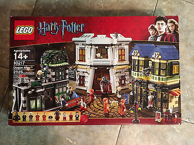 Lego Harry Potter Diagon Alley Set # 10217 Brand New, Retired, Rare, Collectible