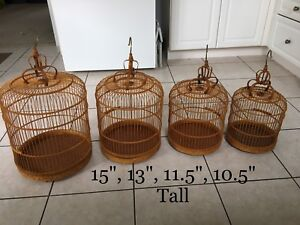 Decorative Cages $90 for 4