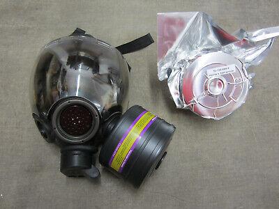 Msa Millennium Cbrn 40mm Gas Mask W Outsert Medium