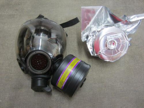 MSA Millennium CBRN 40mm Gas Mask w/ Outsert Medium