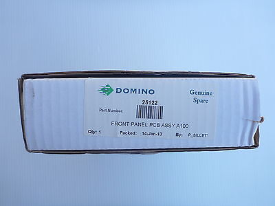 Domino Printer Front Panel Pcb Assy A100 Part 25122