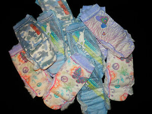 Girls and Boys Goodnites 60 125 lbs Pull UPS Diapers 8 14 ...