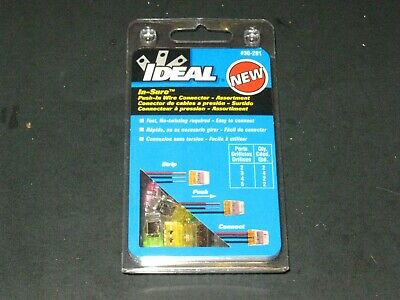 Ideal Push In Wire Connector Assortment 30-291