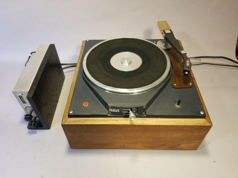 RCA BCQ50 Turntable BA26 Preamp MI11865 Tonearm Broadcast Transcription Radio