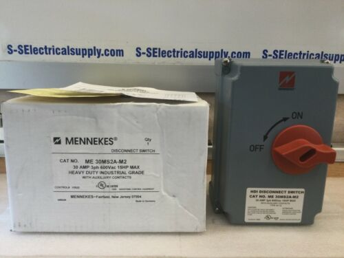 Mennekes ME30MS2A-M2 HDI Disconnect Switch 30 A  3 PHASE 600V