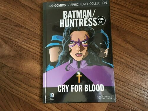 Huntress Batman Cry for Blood Eaglemoss Vol 61 DC HC Graphic Novel