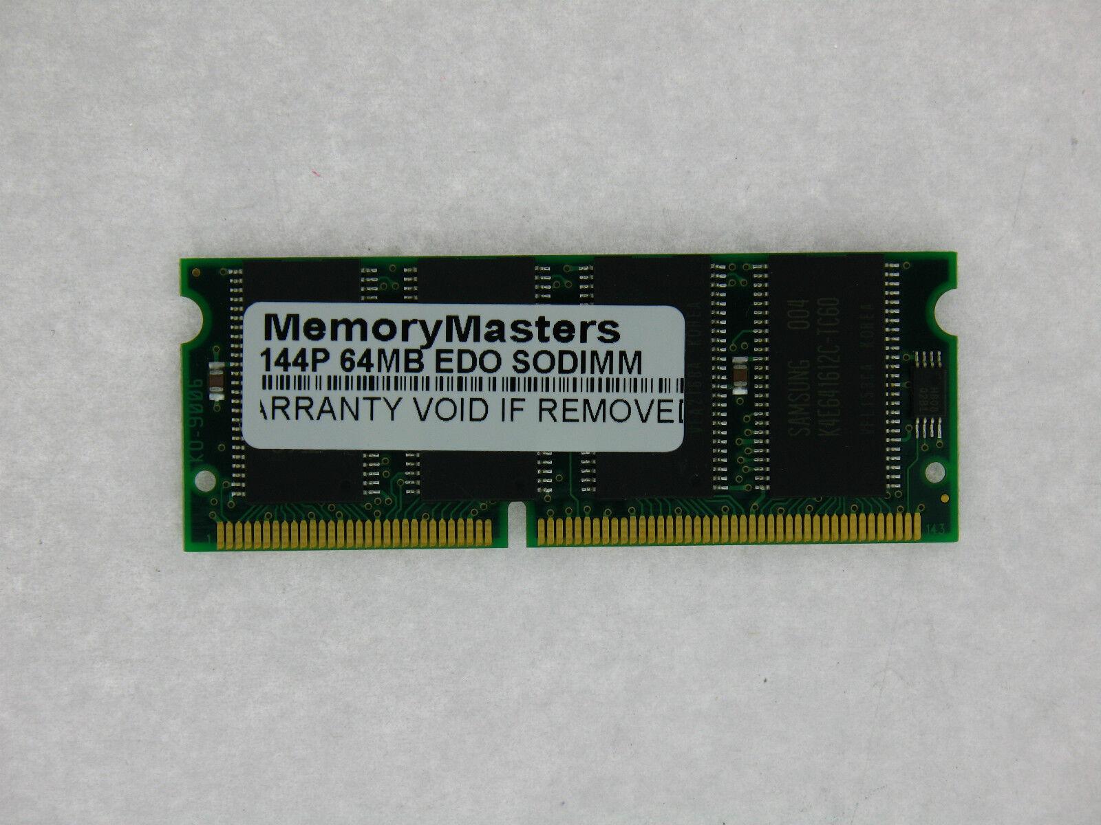 64MB EDO MEMORY RAM ECC BUFF 60NS DIMM 168-PIN 3.3V