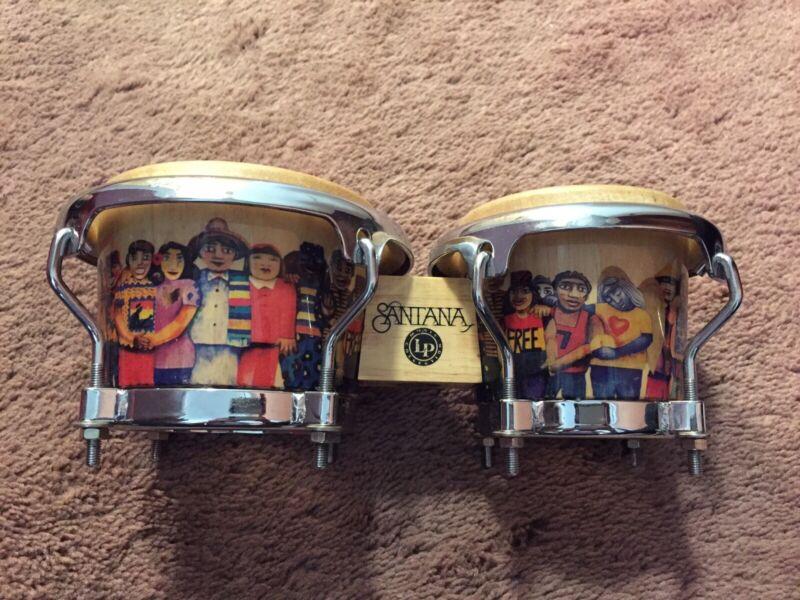 Latin Percussion LPM200-AW Santana Mini Tunable Wood Bongos – EUC