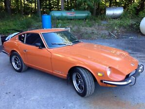 1973 DATSUN 240Z SPORTS COUPE. 4-SPEED, A/C. Well preserved car
