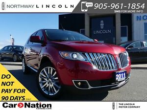 2011 Lincoln MKX HTD/COOLED LEATHER | PANO ROOF |AWD |