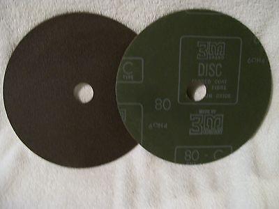3m Aluminum Oxide Abrasive Sanding Disc 7 - 80 Grit - 16 Pcs .....