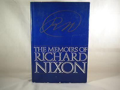 THE MEMOIRS OF RICHARD NIXON 1978 1 st EDITION
