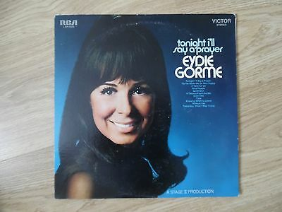 EYDIE GORME VINYL LP TONIGHT I'LL SAY A PRAYER