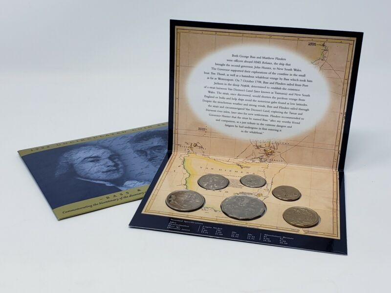 1998 Uncirculated Coin Set ~Bass And Flinders~