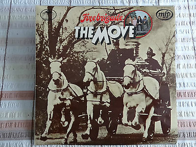 "THE MOVE - FIRE BRIGADE BEST OF 12"" 33RPM VINYL LP EMI MFP 5276 1970 ROY WOOD"