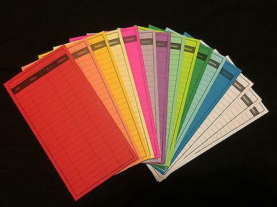 Envelope System Set of 15 multicolored CASH Holding Envelopes