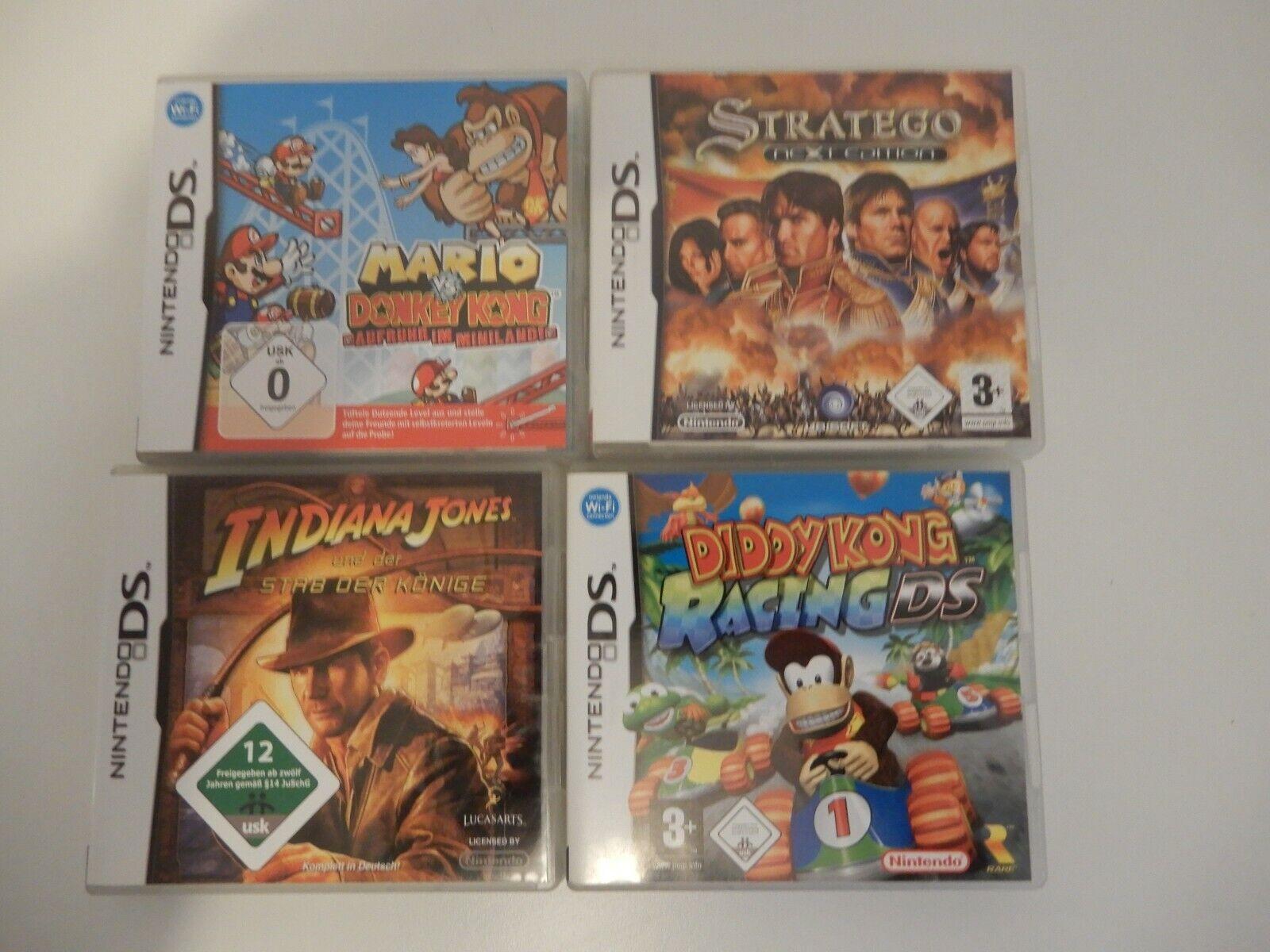 Nintendo DS für Spielkonsole mit 4 Spielen