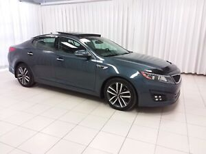 2014 Kia Optima SX GDI. HIGH TRIM SEDAN LOADED WITH FEATURES !!