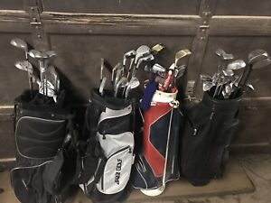 Golf clubs and bags cheap!!!