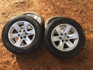 6 bolt rims with BF Goodrich winter tires