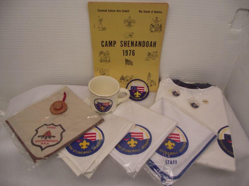 1976 CAMP SHENANDOAH, STONEWALL JACKSON AREA COUNCIL