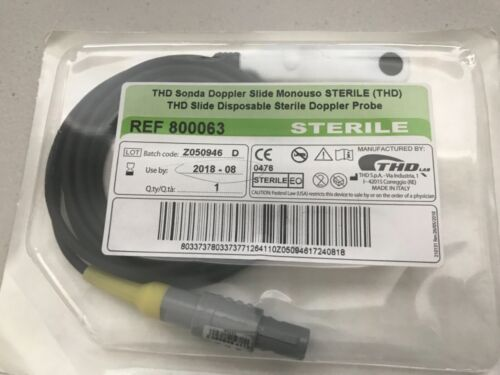 THD 800063 Sonda Doppler slide mono duo . Exp 2018/08