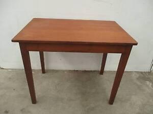 C33004 Vintage Small Oak Kitchen Dining Table Desk Unley Unley Area Preview