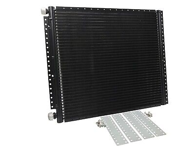 "AC Condenser Universal 12"" X 25"" Parallel High Flow Includes Mounting Brackets"