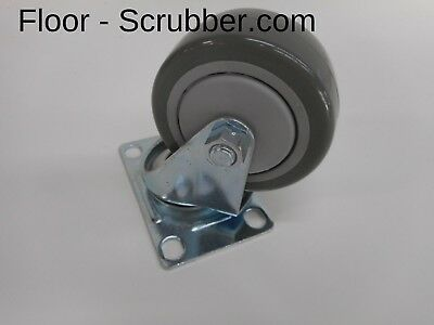 Swivel Caster Wheel Tennant Nobles 606986103001 For 20015200 Floor Scrubber