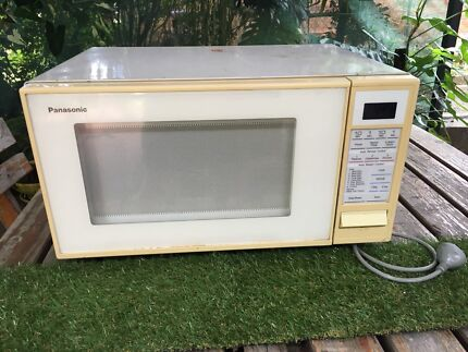 Large vintage microwave. Works great! Good family size