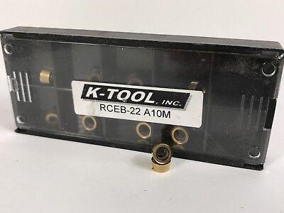 K-tool Rceb-22 New Carbide Inserts Grade A10m 10pcs