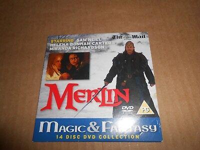 Merlin - DVD in card slipcase starring Sam Neill Helena Bonham Carter