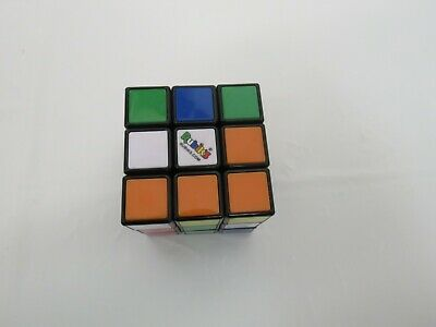 RUBIK'S CUBE GAME BRAIN TEASER TWIST PUZZLE GAME HASBRO MULTI COLORED, used for sale  Shipping to Nigeria
