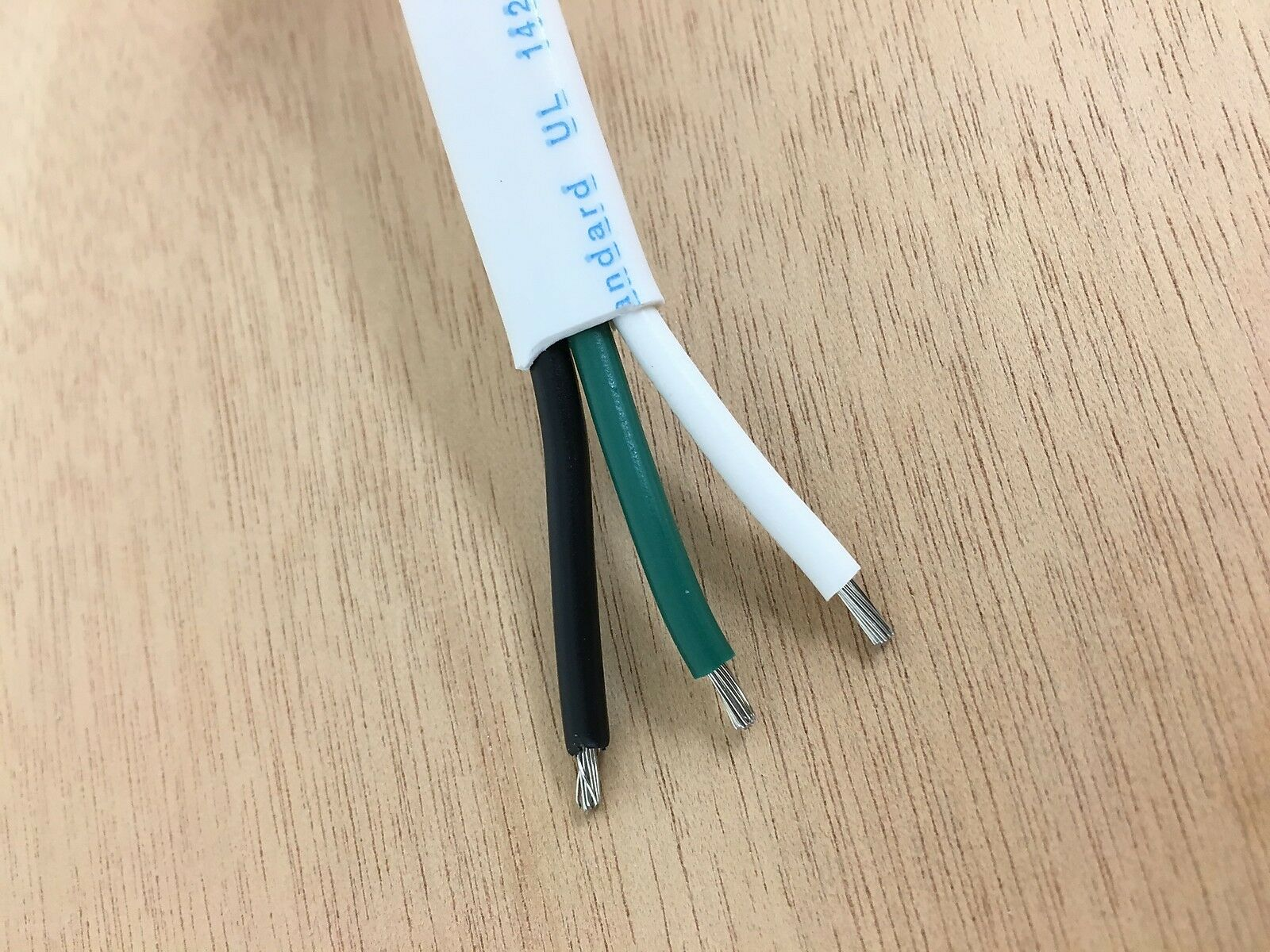 16 3 awg gauge marine grade wire ac boat cable tinned copper flat triplex. Black Bedroom Furniture Sets. Home Design Ideas