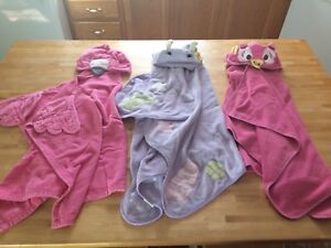 Child Size Hooded Towels