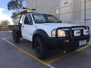 Navara dx 4x4 manual Cremorne Yarra Area Preview