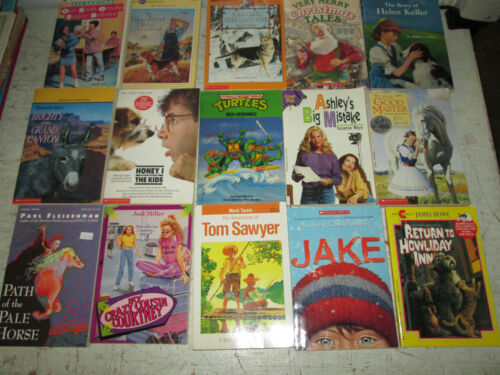 Lot of 15 Assorted Paperback Books, Teen, Good Used Condition