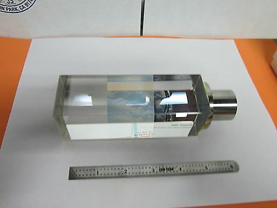 Leica Reichert Polyvar Microscope Prism Beam Splitter Optics As Is Bina2-h-8